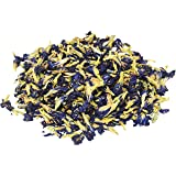 Three Squirrels 100% Natural Dried Pure Whole Butterfly Pea Flower Tea, Perfect Blue Purple Coloring for Food and Beverage, 2Oz (Color: Blue, Tamaño: 1)