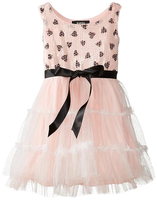 ZUNIE-Little-Girls-Heart-Mesh-Tier-Tutu-Dress