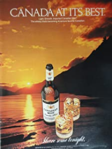 Canadian Mist Whiskey Print Ad