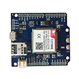 Botletics SIM7000 LTE CAT-M1 NB-IoT Cellular + GPS + Antenna Shield Kit for Arduino (SIM7000E) (Tamaño: SIM7000E)