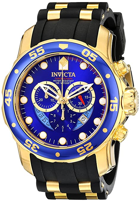 Invicta-Men-s-6983-Pro-Diver-Collection-Chronograph-Blue-Dial-Black-Polyurethane-Watch