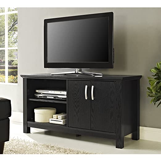 Walker Edison Castillo TV Console, Black