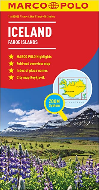 Iceland Marco Polo Map (Marco Polo Maps)