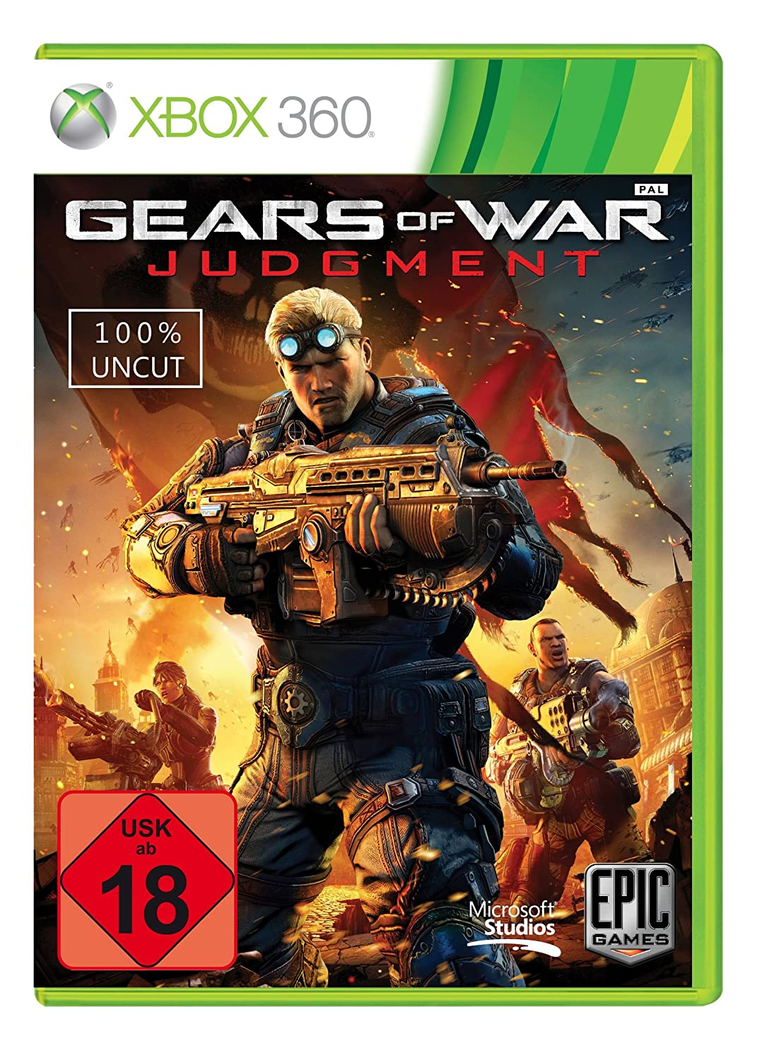 Gears of War: Judgement (uncut)