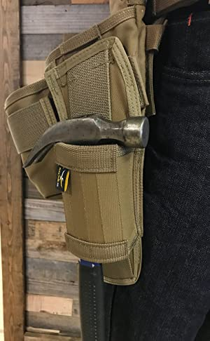 Atlas 46 AIMS Hammer Hold - Left Handed, Coyote | Hand crafted in the USA (Color: Coyote, Tamaño: Left-Handed)