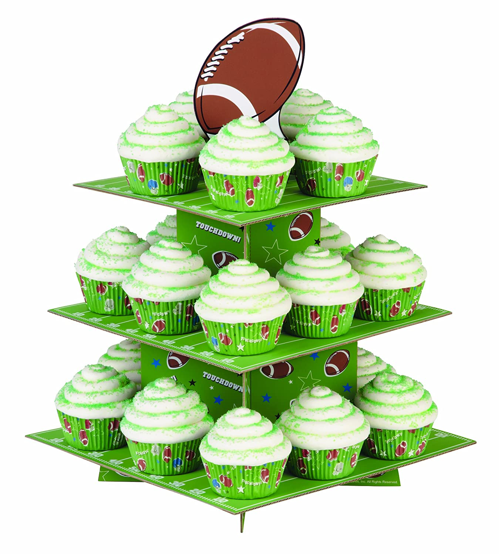 Standing Football Football Treat Stand Cake