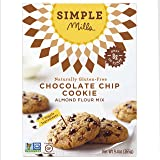 Simple Mills Almond Flour Mix, Chocolate Chip Cookie, Naturally Gluten Free, 9.4 oz