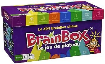 Asmodee - BBMEGA - Brainbox - Jeu de Plateau
