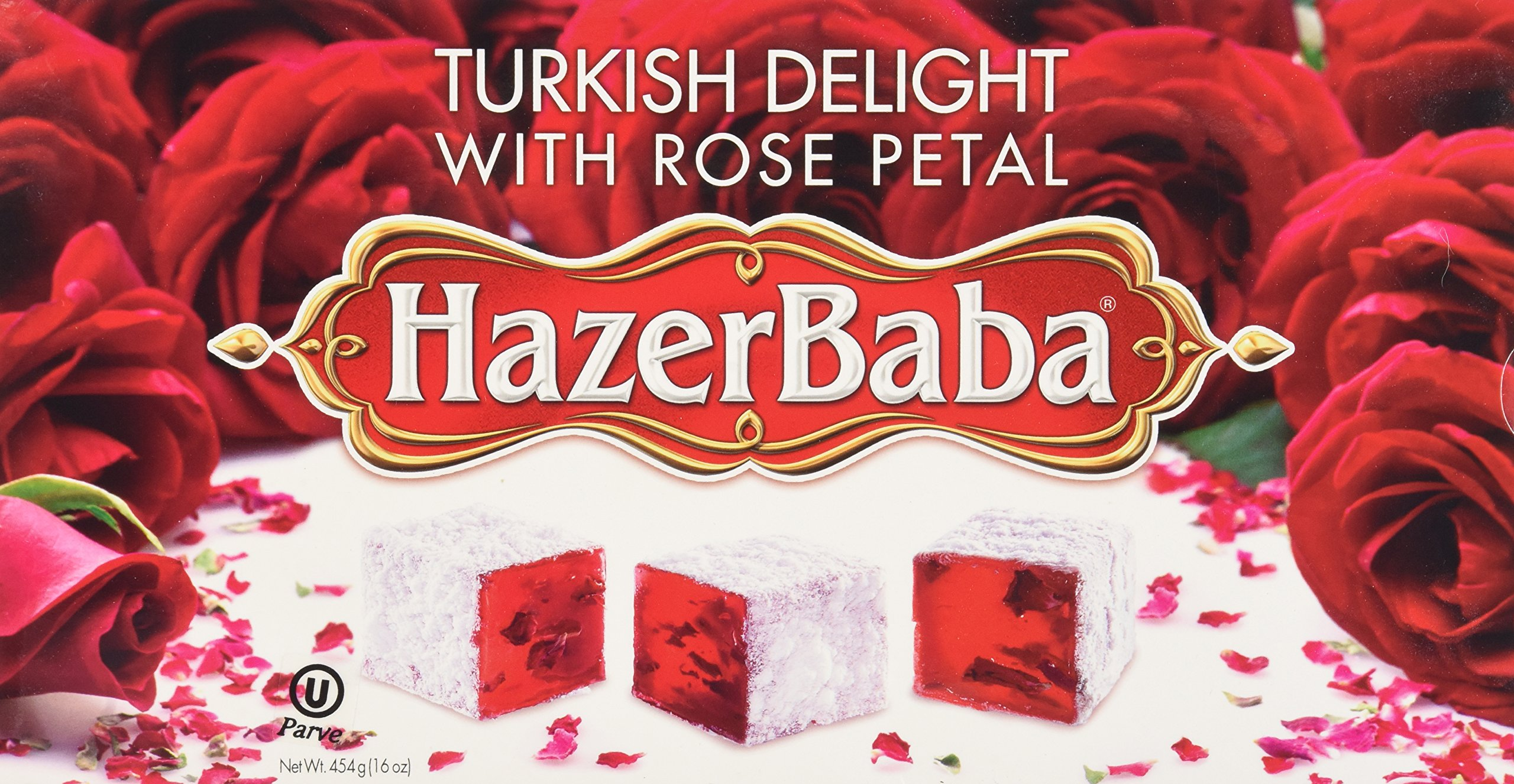 Galleon hazer baba turkish delight with rose 16 oz for Divan rose turkish delight