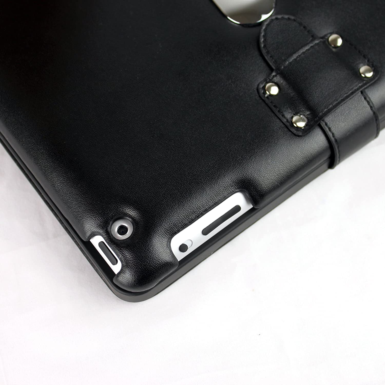 iPad 2 leather case with keyboard