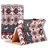 ProCase Samsung Galaxy Tab A 10.1 with S Pen Case - Stand Folio Case Cover for Galaxy Tab A 10.1 Inch Tablet with S Pen SM-P580, with Multiple Viewing Angles, Document Card Pocket - Aztec2 (Color: z- Aztec2, Tamaño: Galaxy Tab A 10.1 with S Pen (SM-P580))