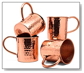 Copper Moscow Mule Mugs 2016
