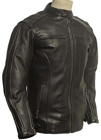 Blouson cuir moto (S)