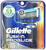 Gillette Fusion Proglide Manual Men's Razor Blade Refills 8 Count