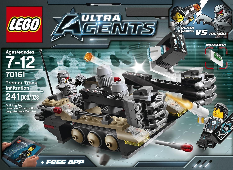 lego ultra agents 70161 tremor track infiltration new free shipping ebay. Black Bedroom Furniture Sets. Home Design Ideas