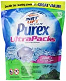 Purex Ultra Packs Liquid Laundry Detergent, Mountain Breeze, 18 Count