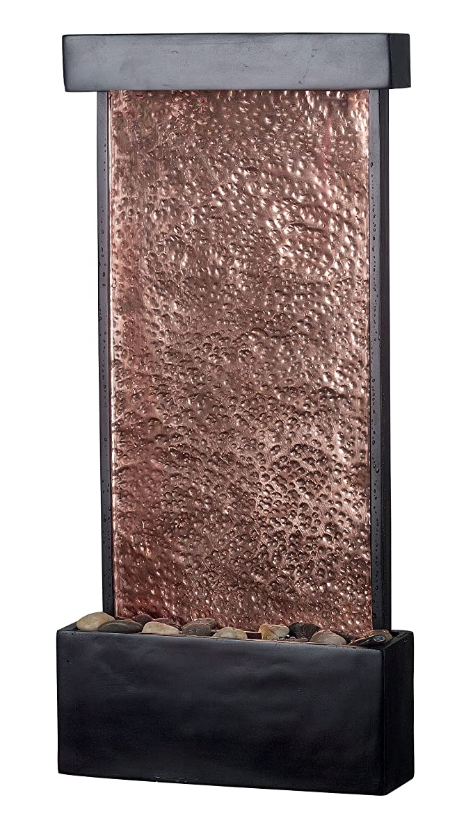 Kenroy Home #50002ORB Falling Water Indoor Wall/Table Fountain with Oil Rubbed Bronze Finish