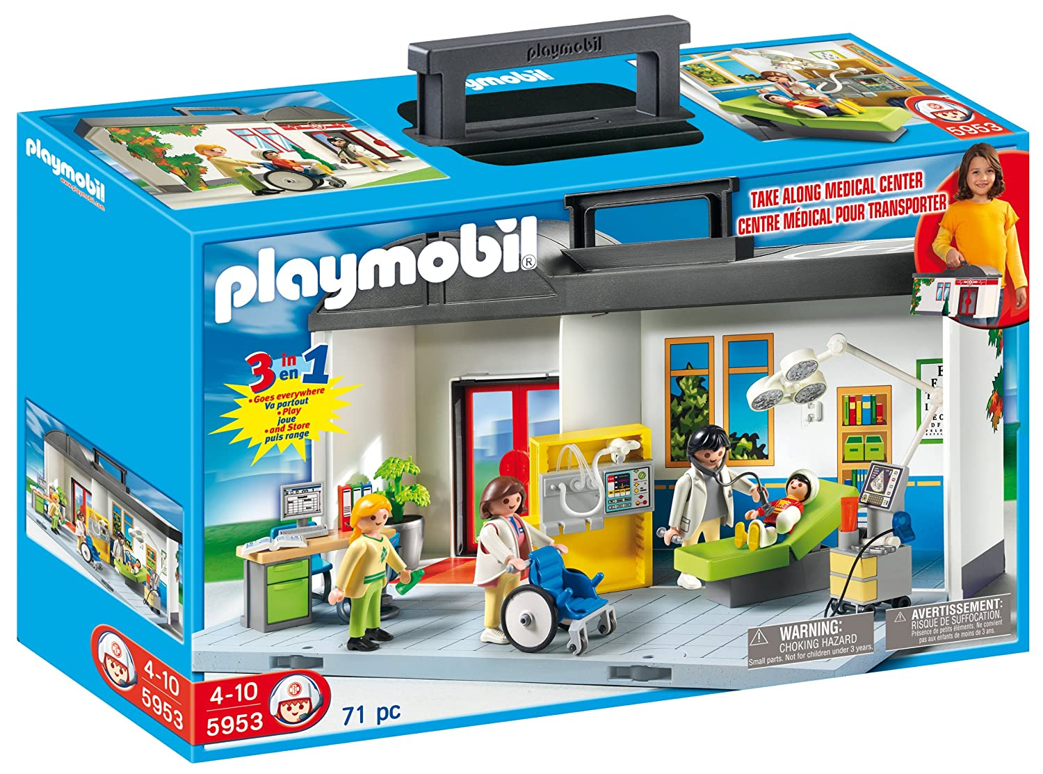 Playmobil Take Along House Playmobil Take Along Hospital