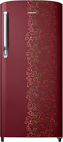 Samsung 192 L 2 Star Direct Cool Refrigerator (RR19M2712RJ/RR19M1712RJ , Royal Tendril Red)