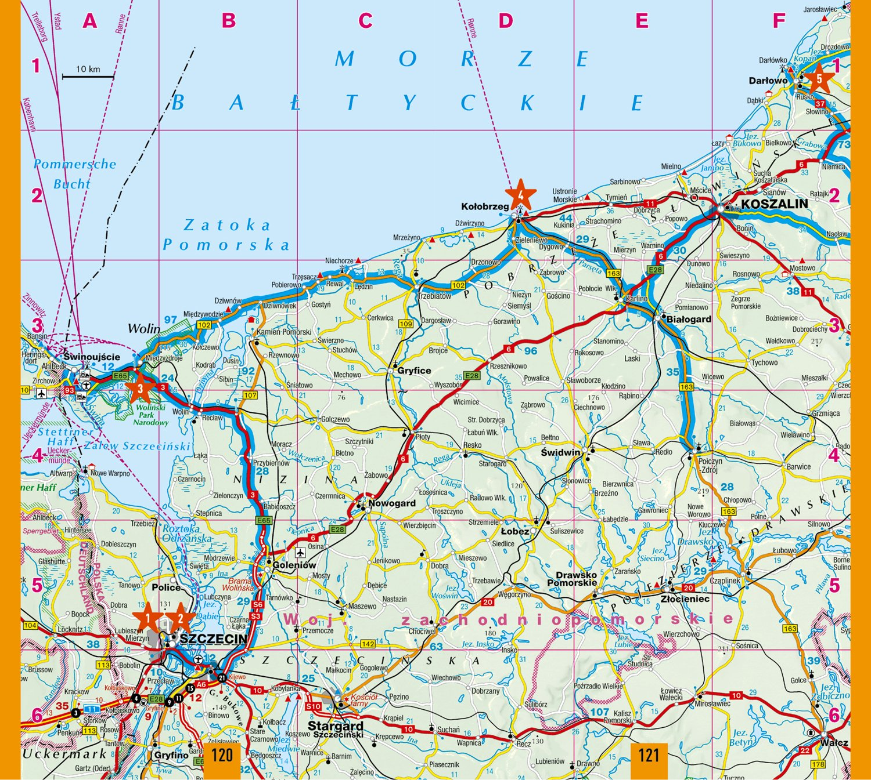Karte Polnische Ostsee Jershoft In Polen Jetzt Urlaub In