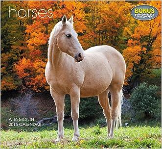 Horses Wall Calendar (2015)