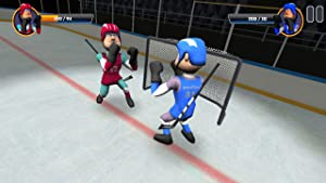Ice Hockey 3D - Big Fight by WimbleSports
