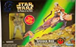 Star Wars Star Wars Power of the Force Speeder Bike with Princess Leia Organa in Endor Gear