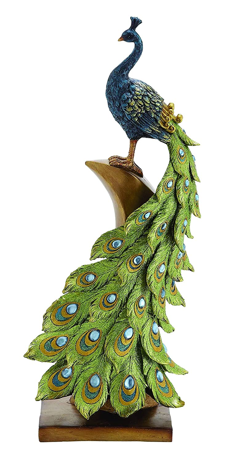 Beautiful Peacock Statues For Lawn And Garden Peacock Sculpture