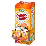 Coffee-mate 35180BX Hazelnut Creamer, 0.375oz (Box of 50)