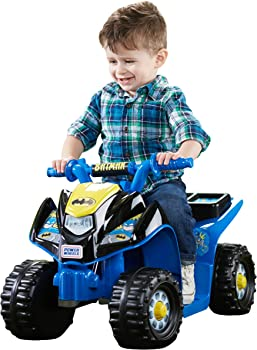 Fisher-Price Power Wheels Batman Lil' Quad Ride On
