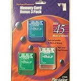 Memory Card Bonus 3 Pack - PSOne