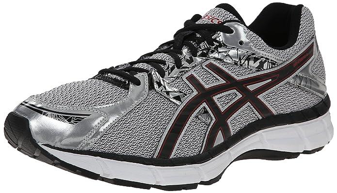 men's asics running shoes black