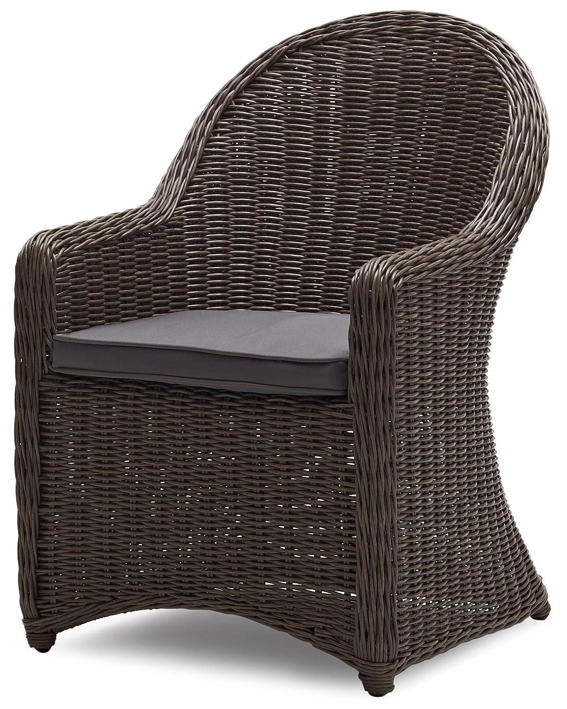 Dark Brown Wicker Wicker Furniture