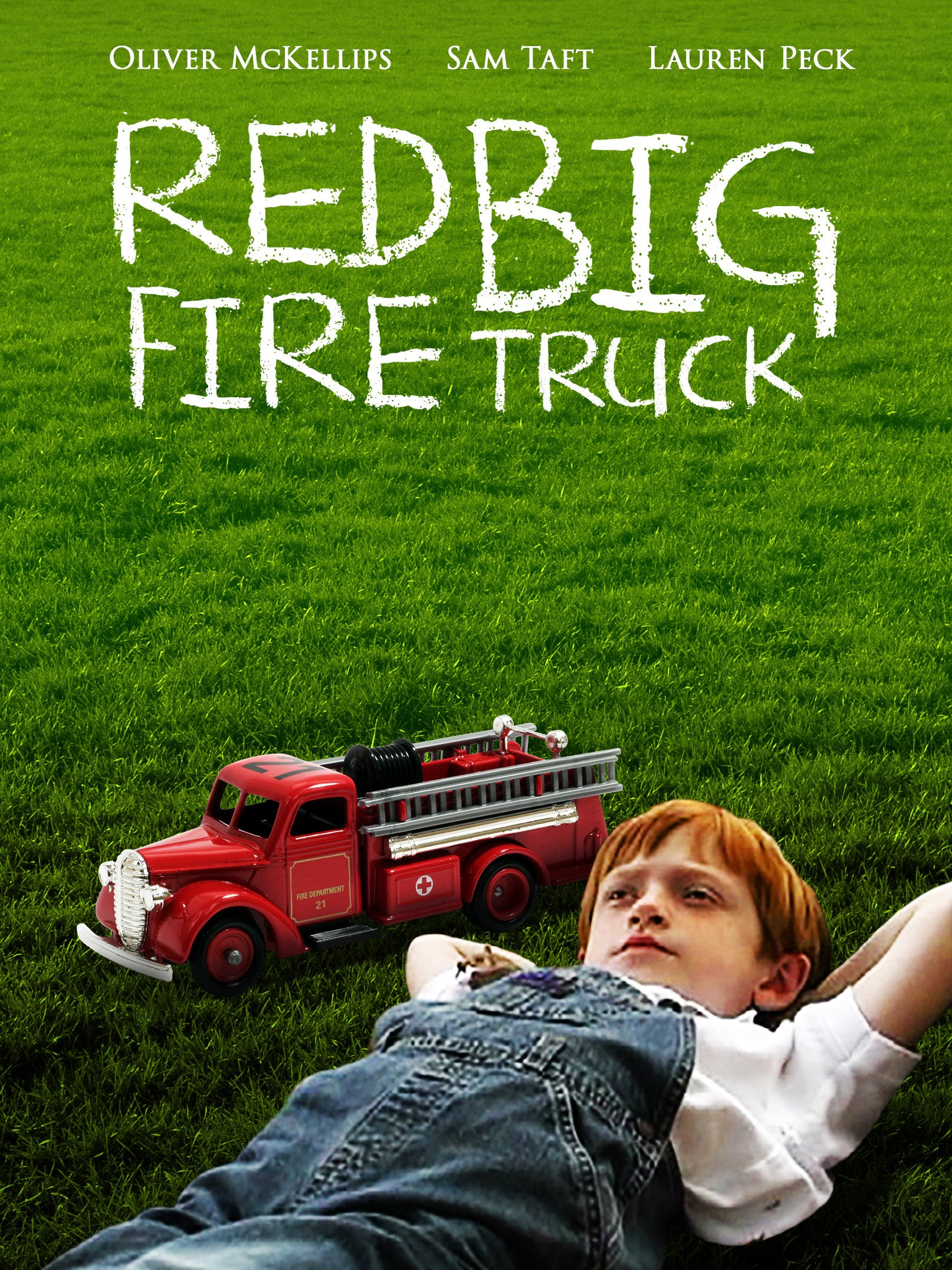 Red Big Fire Truck