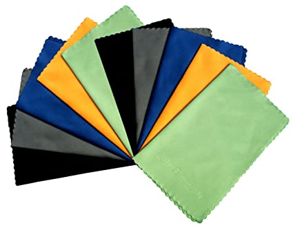 ColorYourLife Microfiber Cleaning Cloths