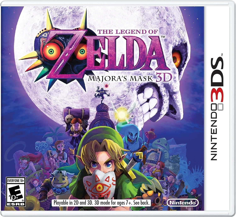 Trailer de The Legend of Zelda: Majora's Mask 3D - Is that…your true face ?  dans News Games 91MEVIjA-UL._SL1500_