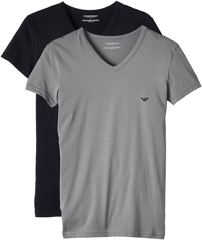 Armani t Shirt Pack Emporio Armani Men's 2 Pack