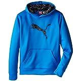 PUMA Boys' Big Cat Hoodie (Little Kid/Big Kid), Sky Blue, Medium (Color: Sky Blue, Tamaño: Medium)