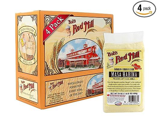 Bob's Red Mill Golden Masa Harina Corn Flour Via Amazon