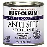 Rust-Oleum 207009 Marine Anti-Slip Additive 1/2-Pint (Color: Clear, Tamaño: 1/2 Pint)