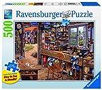 Ravenburger Puzzles Ravensburger Dad's Shed, Multi Color