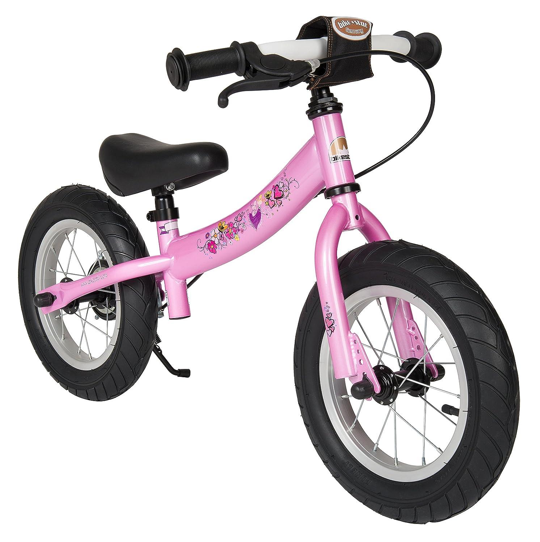 BIKESTAR® Premium Sicherheits-Kinderlaufrad für modebewusste Prinzessinnen ab 3 Jahren ★ 12er Sport Edition ★ Märchenhaft Pink bestellen