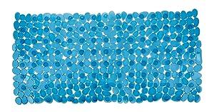 Wenko 20262100 Paradise - Alfombra de bañera (71 x 36 cm), color azul   Comentarios y más información