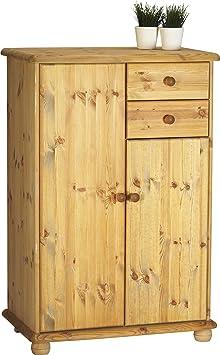 steens 20222230 highboard max 125 x 83 x 49 cm kiefer massiv gelaugt ge lt db981. Black Bedroom Furniture Sets. Home Design Ideas