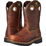 John Deere Men's 11 BRN Waterproof Farm/Wrk NST PO Work Boot, Brown, 10 W US (Color: Brown, Tamaño: 10 W US)