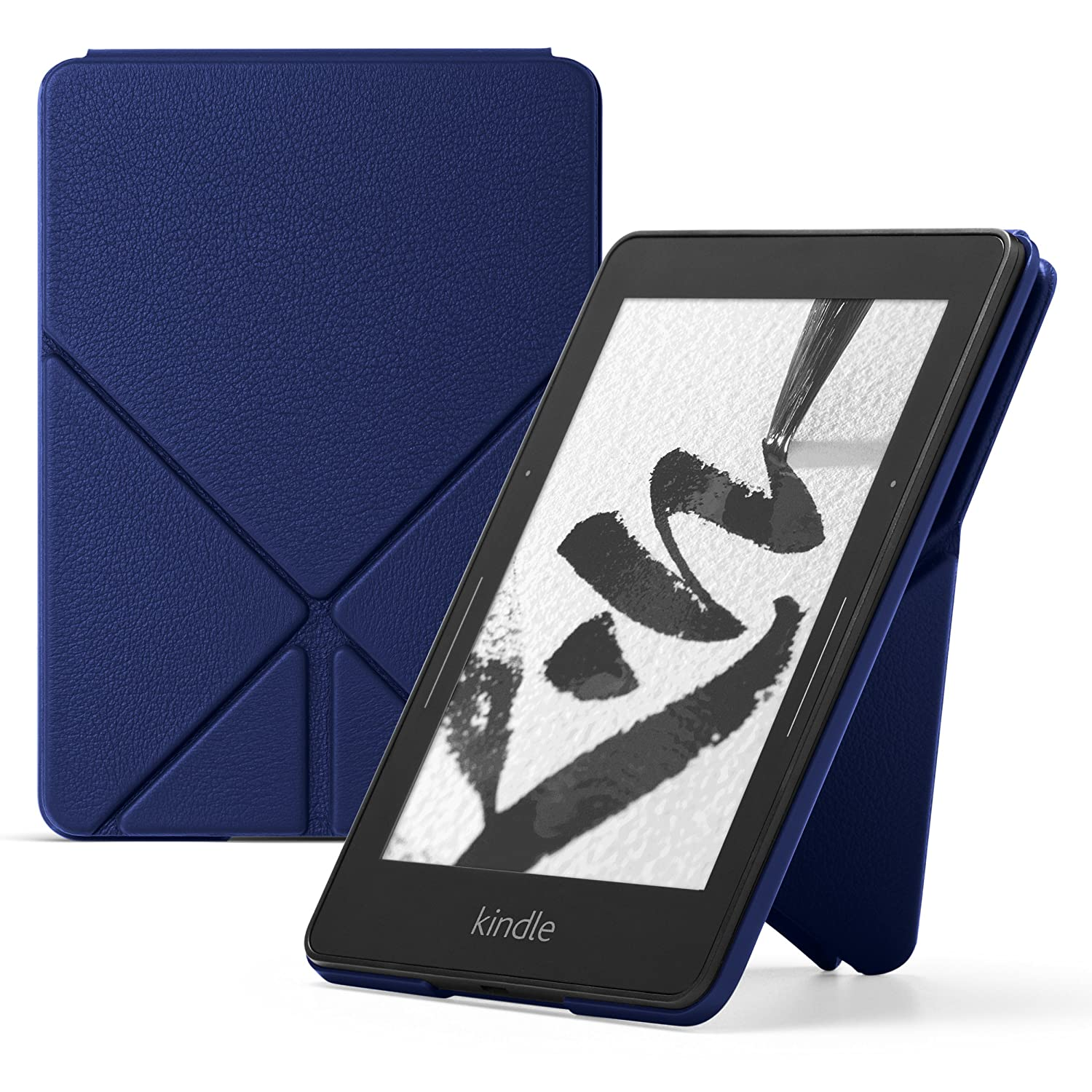 Amazon Protective Leather Cover for Kindle Voyage, Blue