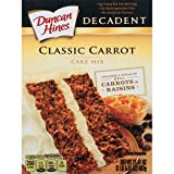 Duncan Hines Decadent Cake Mix, Classic Carrot, 21.4 Ounce