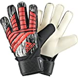 adidas ACE Fingersave Junior Manuel Neuer Goalie Gloves, Bright Red, Size 7 (Color: Manuel Neuer/Bright Red, Tamaño: Size 7)