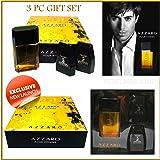 Azzaro Pour Homme Eau De Toilette 3.4 Oz 3 Pc Gift Set +Bo/shampoo+a/s 2.6 Oz+
