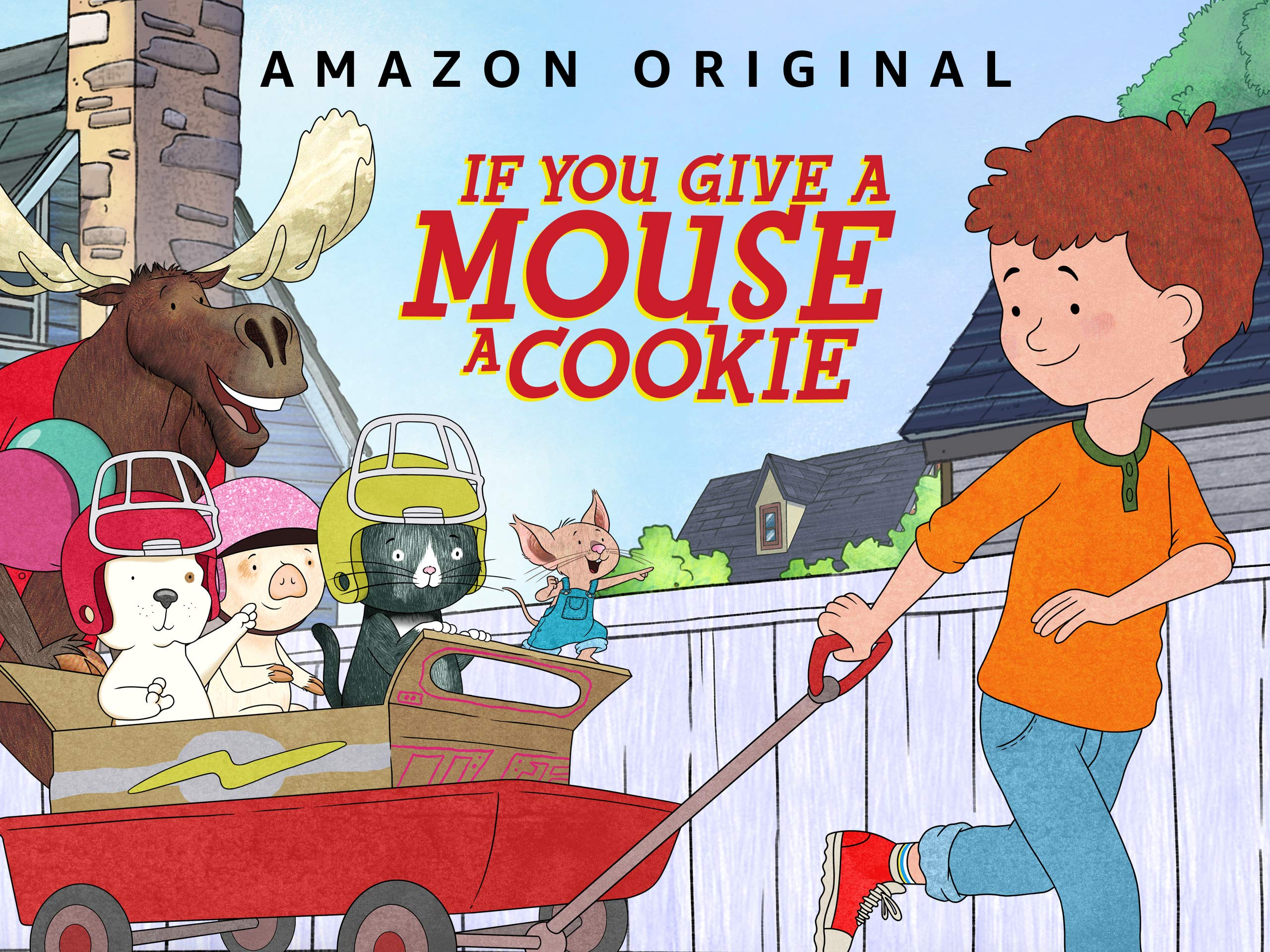 If You Give a Mouse a Cookie on Amazon Prime Video UK